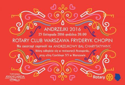 Bal Andrzejkowy – RC Warszawa Fryderyk Chopin
