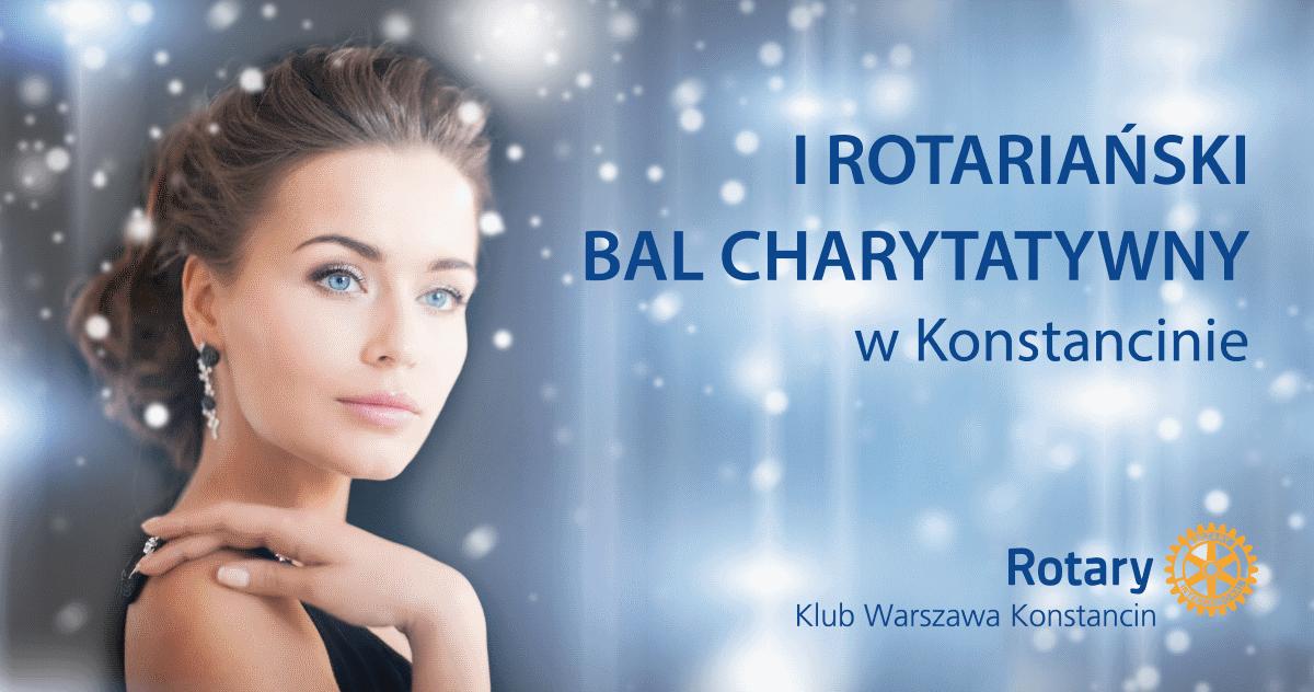 I Rotariański Bal Charytatywny w Konstancinie