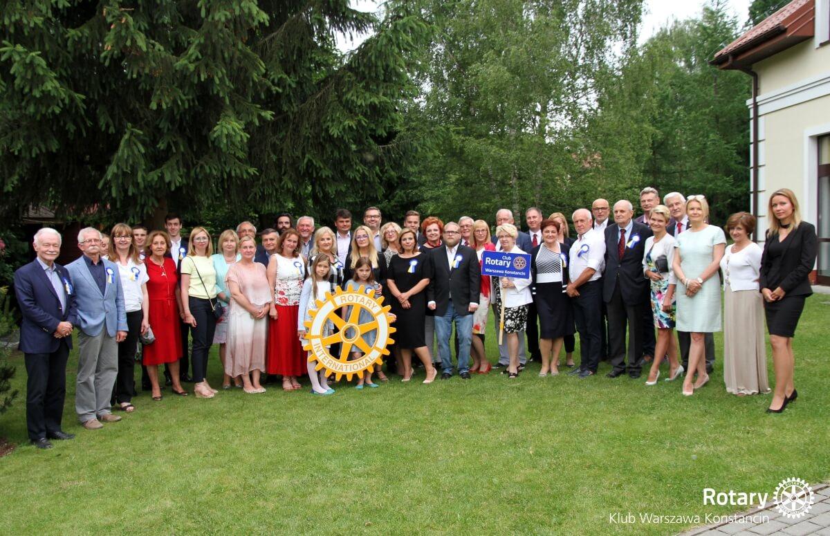 RC Konstancin Rotary przekazanie służby na kadencję 2017/2018